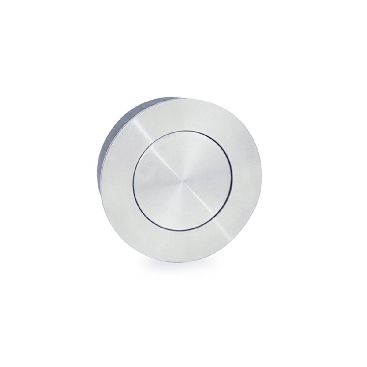 Jako WFH110X50PSS Round Flush Pull - Polish Stainless Steel, Diameter 2''