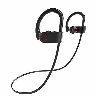 Auriculares clásicos con gancho para los oídos, resistentes al agua, estilo deportivo, auriculares