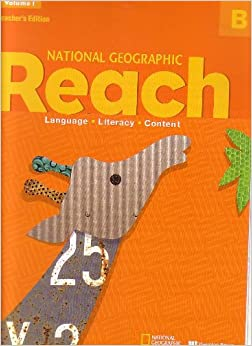 NATIONAL GEOGRAPHIC REACH VOLUME 1, B TEACHER'S EDITION