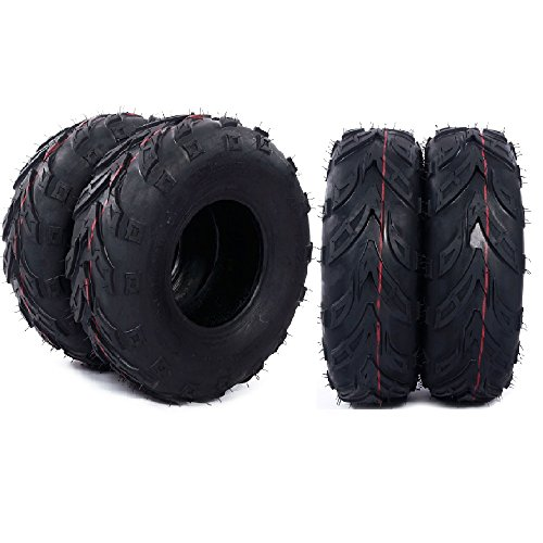 4pcs Go-Kart Sport ATV Lawn Tubeless Tire 145x70x6 Mini Bike Tires, 4 Ply