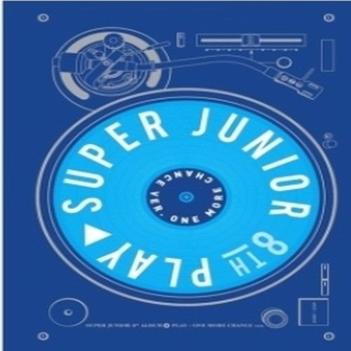 Chance Album (Super Junior - [Play] 8th Album One More Chance Ver CD+Booklet+Card K-POP Sealed)