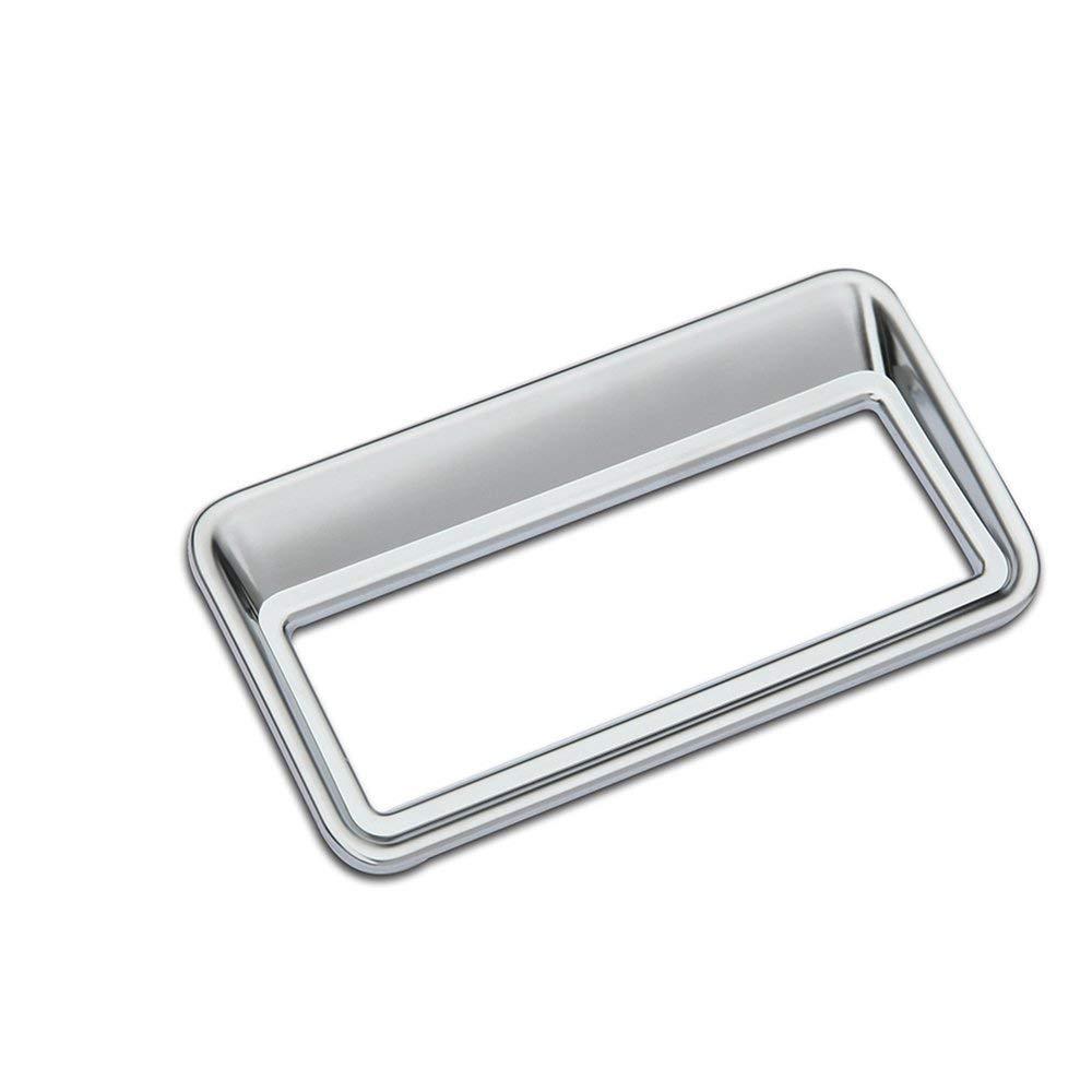 Accessorio per veicolo interno per auto, per Evoque Vogue Sport 2012-2017, Cover per copritastiera per pulsante Taildoor ABS in plastica cromato Argento, 1 pz/set ACCEMOD