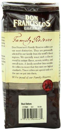 Don Francisco's Kona Blend, 12oz Whole Bean Coffee Bag Family Reserve
