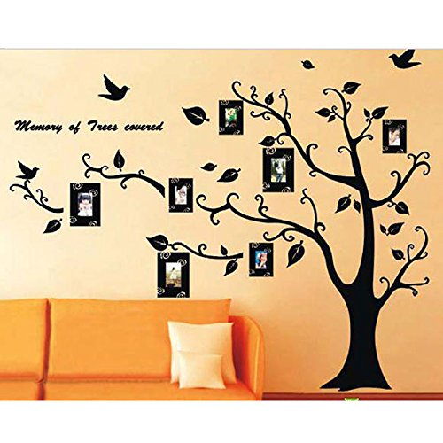 Great Family Photo Frame Tree Branch U0026 Leaves Wall Decal Sticker By Rondaful Part 27