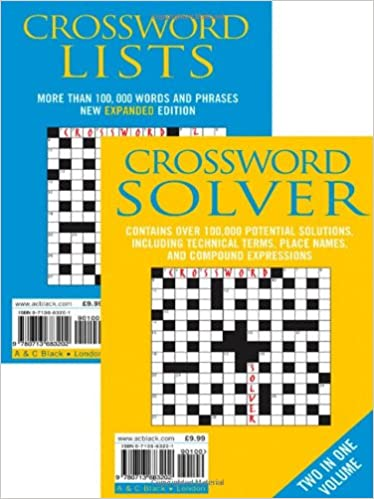 Crossword Lists and Crossword Solver: Over 100, 000 Potential Solutions Including Technical Terms, Place Names and Compound Expressions