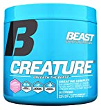 Beast Sports Nutrition – Creature Creatine Complex – Fuel Muscle Growth – Optimize Muscle Strength – Enhance Endurance – Increase Recovery Time – Five Forms of Creatine – Pink Lemonade 30 Servings