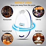 U-miss Ultrasonic Pest Repeller Plug in Pest Control - Mice Repellent & Rat Repellent in Pest Repellent - Bug Repellent for Ant,Mosquito,Mice,Flea,Fly,Spider,Roach,Rat (New 2019 Pest Repeller)