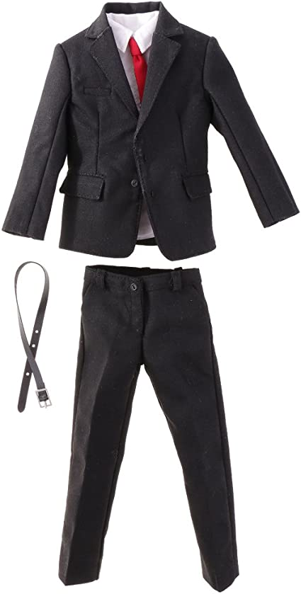 Amazon.es: 1/6 Traje Suit Formal de Male Gentleman para 12 ...