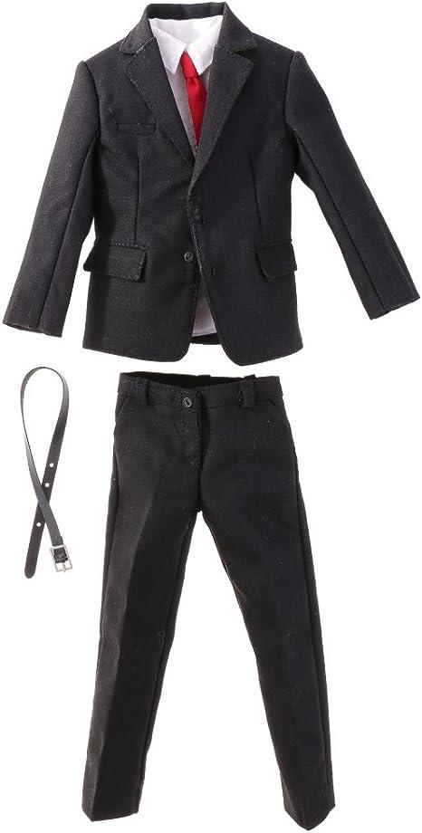 Amazon.es: 1/6 Traje Suit Formal de Male Gentleman para 12 ...