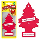 Magic Tree Little Trees Car Home Air Freshener Freshner Smell Fragrance Aroma Scent - Cinnamon Apple (120 Pack)