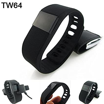 Amazon.com : Bluetooth Smart Watches Smartband Wristband Bracelet Pedometer Tracker Fitness Podometro Pulsera Relojes For Android IOS TW64 : Sports & ...