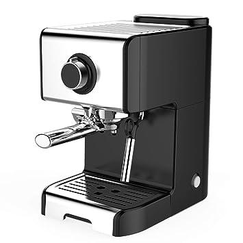 WFL Máquina de café Doméstica y Comercial, pequeña máquina de café Italiana Semi-automática