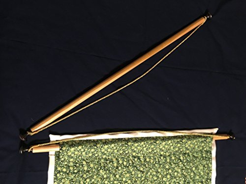 Custom Wall-hanging Rod for Quilts, Tapestries or Banners - custom length 18-28