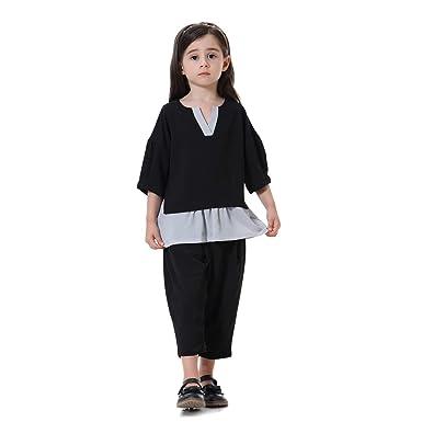Amazon.com: BaronHong Musulmana islámica árabe niña cuello ...