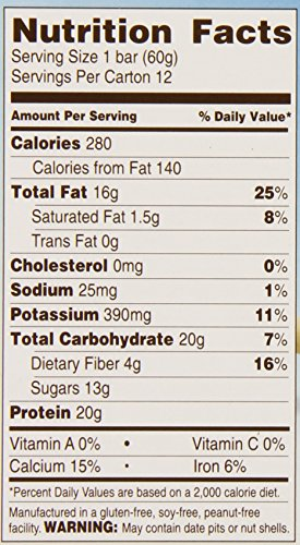 Rise-Bar-Non-GMO-Gluten-Free-Soy-Free-Real-Whole-Food-Whey-Protein-Bar-20g-No-Added-Sugar-Almond-Honey-High-Protein-Bar-with-Fiber-Potassium-Natural-Vitamins-Nutrients-21oz-12-Count