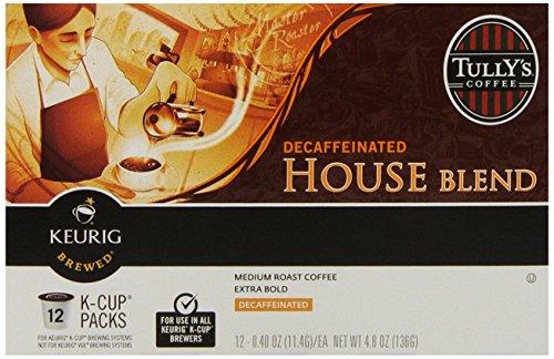 Tully's Coffee House Blend Decaf Keurig K-Cups Coffee, 72 Count (Keurig Decaf House Blend compare prices)