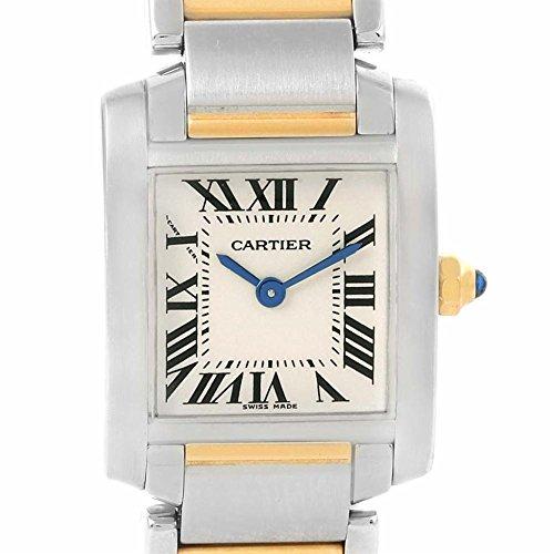 Cartier Tank Francaise quartz womens Watch W51007Q4 (Certified Pre-owned)
