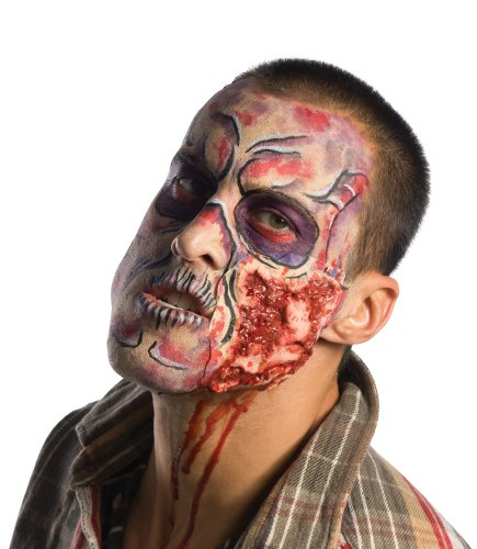 Zombie Makeup Walking Dead (Inspired By The Walking Dead Deluxe Step-by-Step Make Up Kit, Multi, One Size)