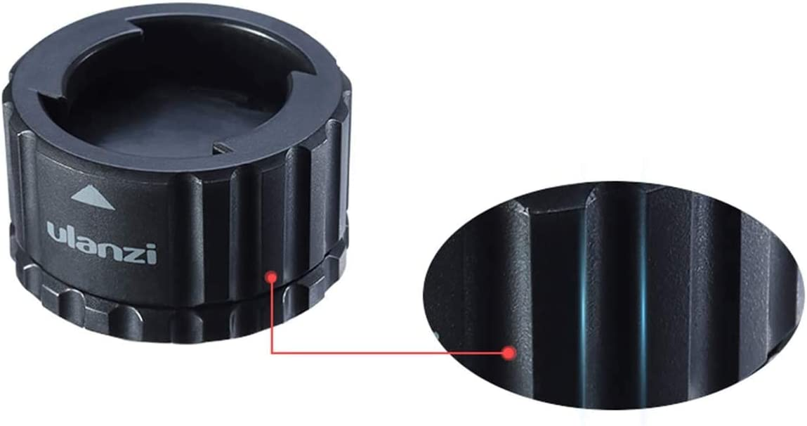 1//4  Schraube und GoPro-Schnittstelle ULANZI Action Camera Magnetische Schnellverschluss-Stativhalterung Starke magnetische und sichere Verriegelung f/ür GoPro 4 5 6 7 8 Max DJI OSMO Action Action