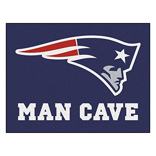 (FANMATS 14332 NFL New England Patriots Nylon Universal Man Cave All-Star Mat)