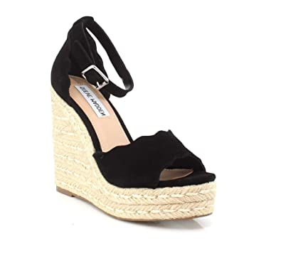 aeebf1c3c37 Amazon.com | Steve Madden Women's Susana Wedge Sandals | Shoes