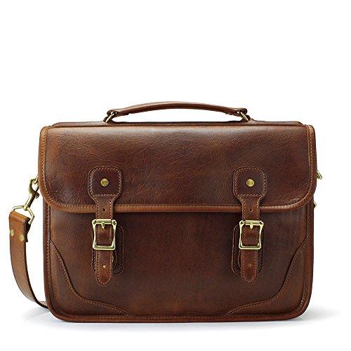 J.W. Hulme Co. - Brief Bag - American Heritage Leather by J.W. Hulme Co.