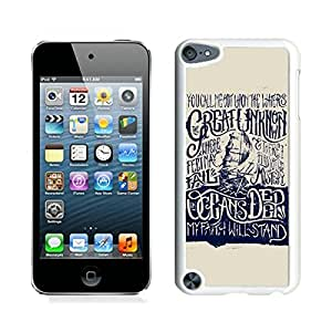 Hillsong United Oceans Lyric White iPod Touch 5 Screen Cellphone Case Lovely and Fashion Style