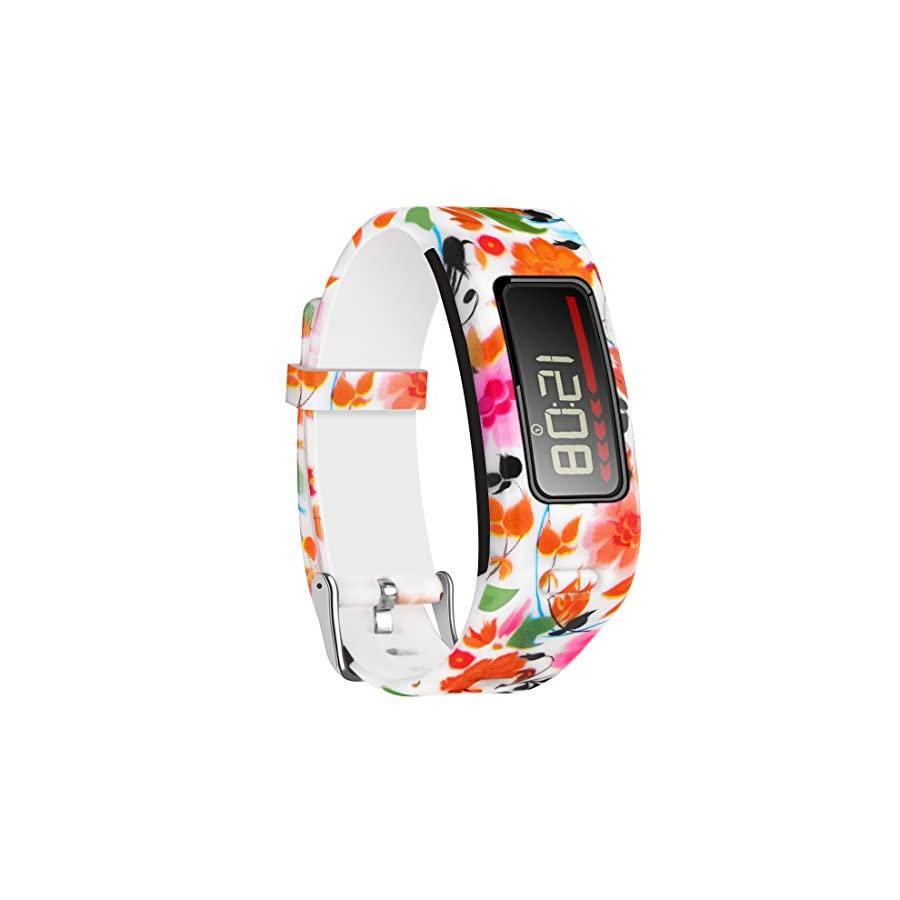 CreateGreat Bands Compatible with Garmin Vivofit,Soft Silicone Replacement Accessory Band for Garmin Vivofit/Garmin Vivofit Band/Garmin Vivofit Bands