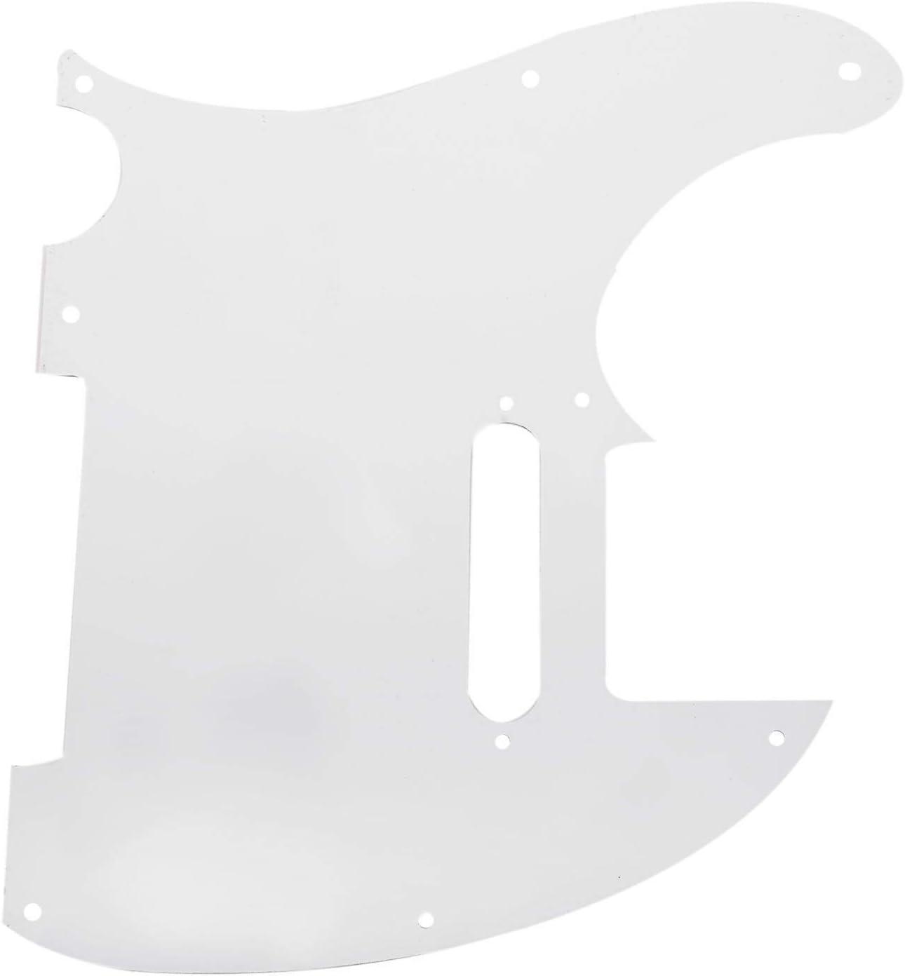 CUHAWUDBA Blanco 3 Ply Caja de Resonancia de Guitarra Electrica Para Tele Estilo Guitarra Electrica