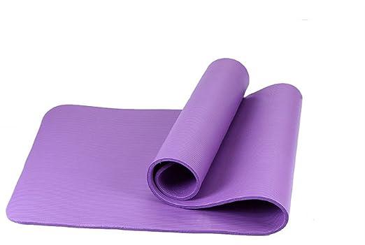 Alfombras de Yoga, 10 mm Espesar alargar Manta de Fitness ...