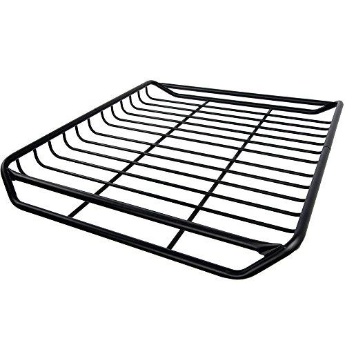 Apex RB-1512 Black Car Top Roof Rack Carrier Mesh Basket (Roof Top Basket)