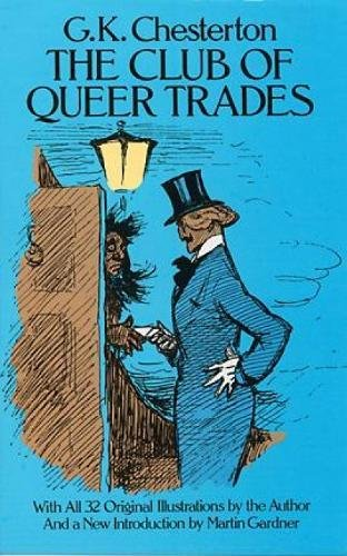 book cover of The Club of Queer Trades