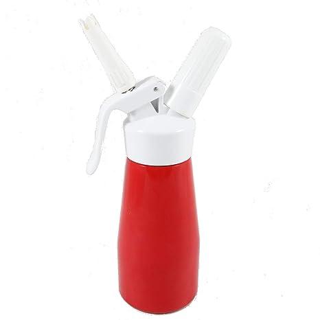 Amazon.com: ISI Crema Sifón Látigo Rojo 0,5 pinta de postre ...
