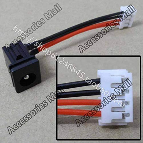 ShineBear New Laptop DC Power Jack with Cable for Toshiba TECRA M1 M2 M5 A80 DC Power Jack Cable Length: 5PCS