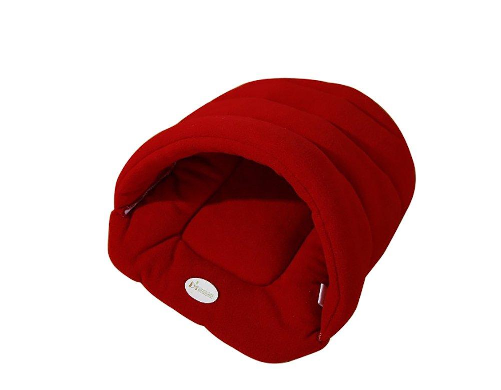 Happy FD - Iglú de peluche para mascotas, saco de dormir: Amazon.es: Productos para mascotas