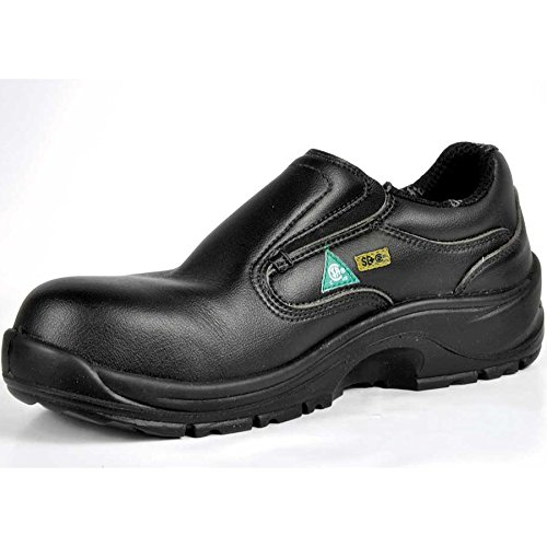 Cofra 10400-CU1.W09, 5 Kendall SD+ PR Safety Shoes, 9.5, Black