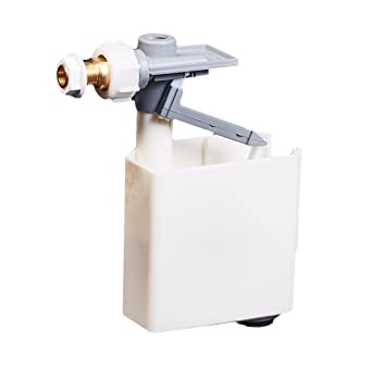 Stir Blitz grifo a flotador para cassette inodoro - Cierre a pistón (baja presión) Casquillo lateral: Amazon.es: Bricolaje y herramientas