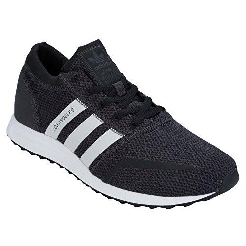 Scarpe Da Ginnastica Adidas Originali Mens Los Angeles Utility Black Uk13.5 Nero
