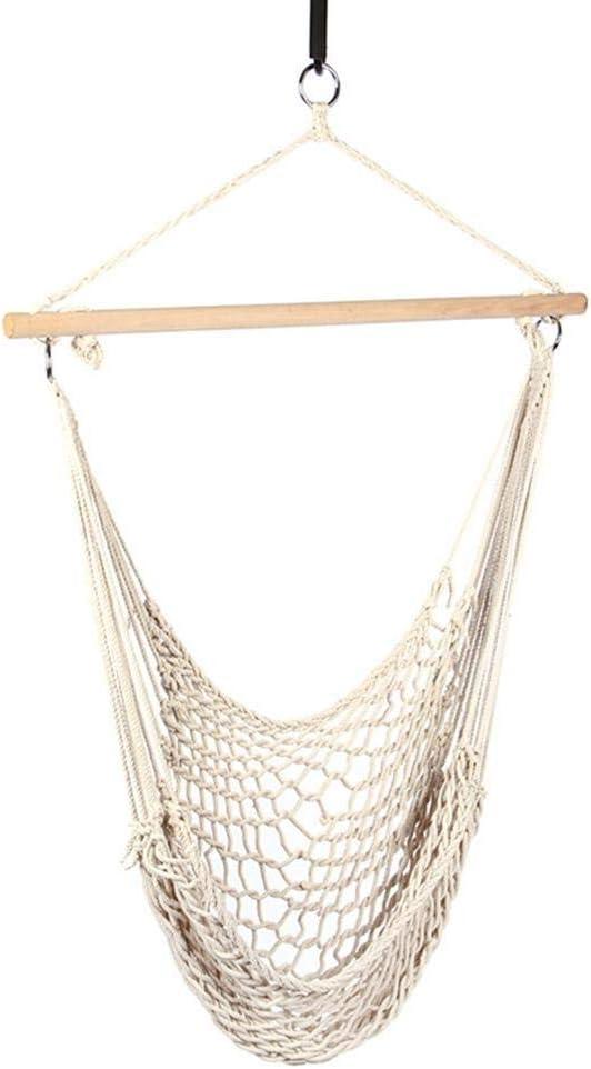 Handmade Macrame Hammock Chair Hanging Cotton Rope Swing Chair Garden Patio Porch Bedroom Backyard Indoor Outdoor Swing Chair Seat Price In Uae Amazon Uae Kanbkam