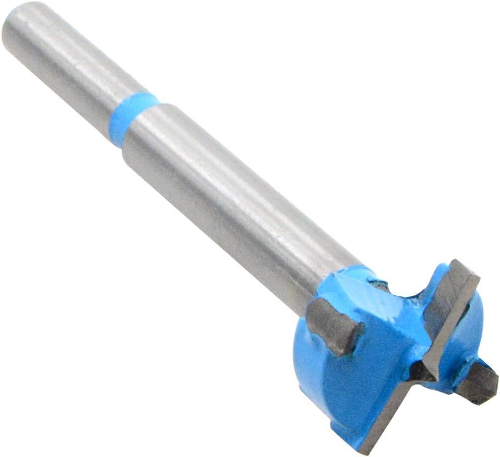 /rigide en alliage menuiserie Charni/ère Foret Scie-cloche pour bois Plastique en contreplaqu/é Bleu et argent Saim 20/mm forets /à fa/çonner/