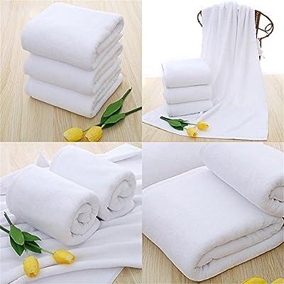 S&M TREADE-Soft 70x140cm Luxury Hotel Spa Bath Towel Warmer Cotton White Towels