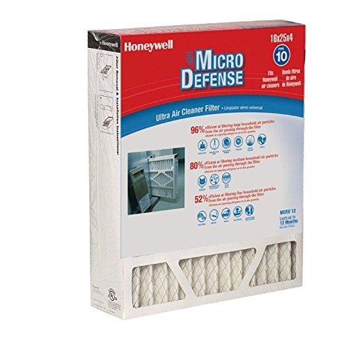 Honeywell Merv 10 Filter - Honeywell CF200A1008/E 4 3/8-Inch Ultra Efficiency Air Cleaner Filter