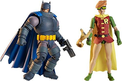 Super Hero The Dark Knight Returns Armored Batman Figure Vs Multiverse Robin Figure (Marvel Classic Hulk Costume Kit)