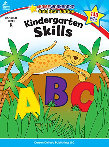 Kindergarten Skills: Gold Star Edition (Home Workbooks)