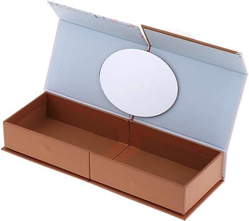 chiwanji Estuche de Lápices de Cartón Plegable Portalápices con Espejo Pequeño Regalo de Cumpleaño para Estudiantes Niños - #A: Amazon.es: Hogar