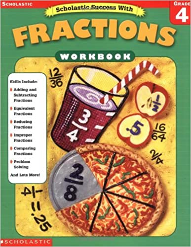 Read online Scholastic Success With: Fractions Workbook: Grade 4 PDF, azw (Kindle)