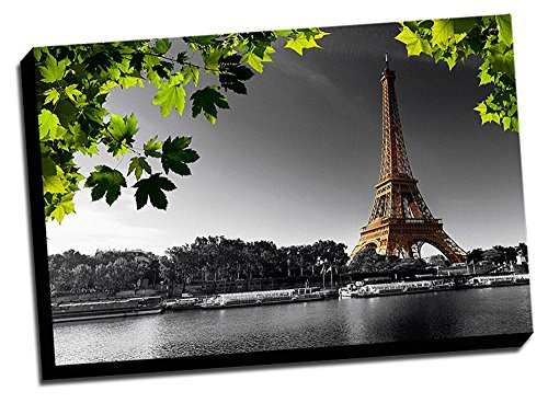 Eiffel Decoration Printed Canvas Stretched