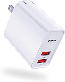 Baseus 30W Quick Charge 3.0 Dual USB Wall Charger