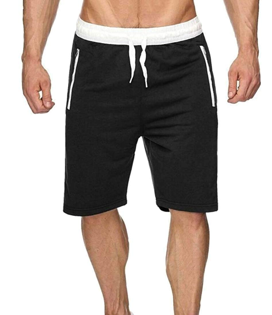 Generic Mens Quick Dry Shorts Swim Trunks with Pocket