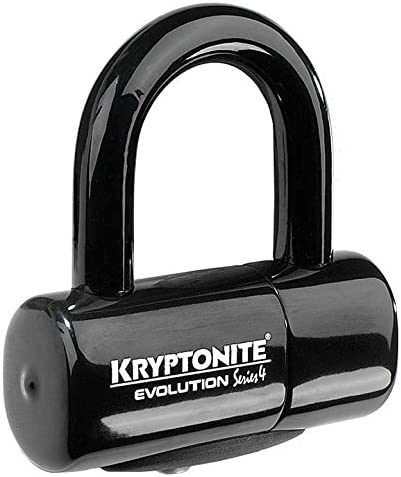 Kryptonite Evolution Series 4 Bicycle Disc Bike Lock Black